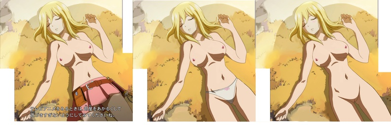 fairy tail lucy nude № 163876
